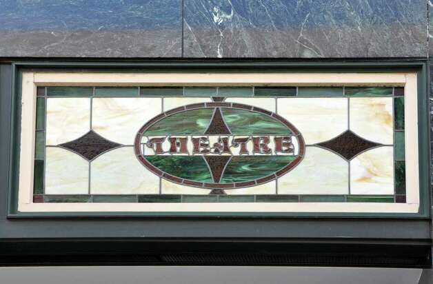 The Palace Theatre features stained glass details as seen during a tour of historic downtown Stamford on Saturday, Oct. 16, 2010. Photo: Amy Mortensen / Connecticut Post Freelance