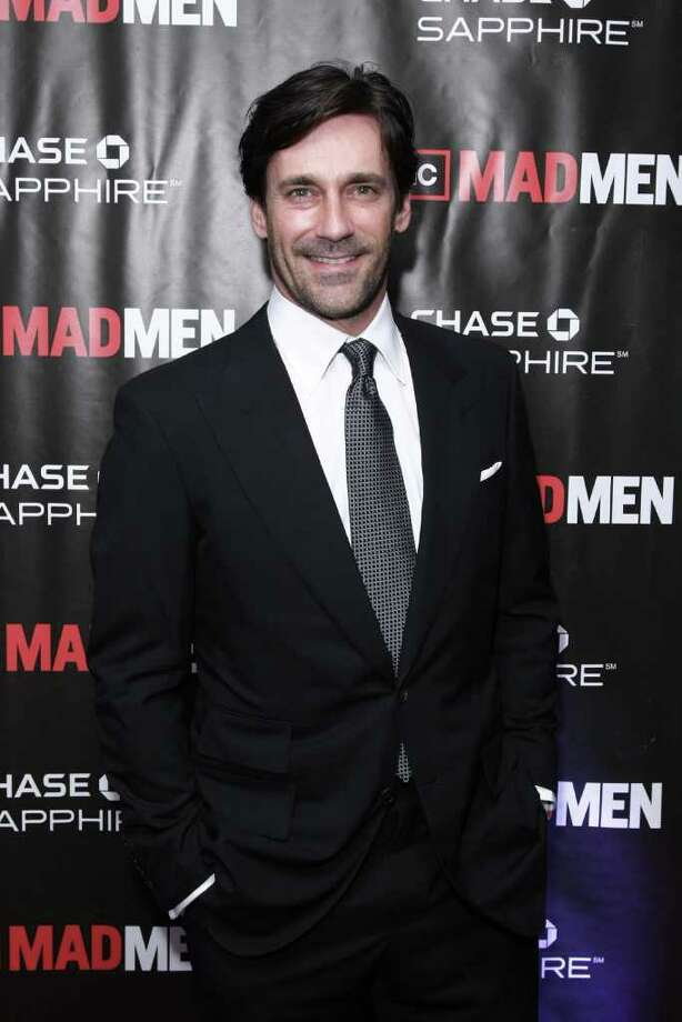 "NEW YORK - OCTOBER 17:  Actor Jon Hamm attends the ""Mad Men"" season 4 finale screening at the 21 Club on October 17, 2010 in New York City.  (Photo by Neilson Barnard/Getty Images) *** Local Caption *** Jon Hamm Photo: Neilson Barnard, Getty Images / 2010 Getty Images"