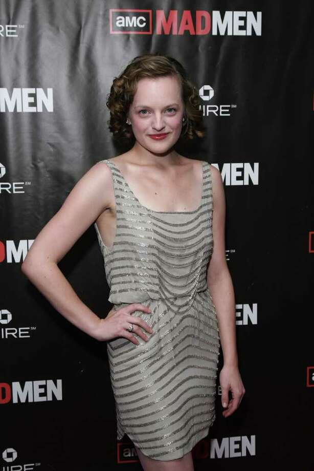 "NEW YORK - OCTOBER 17:  Actress Elisabeth Moss attends the ""Mad Men"" season 4 finale screening at the 21 Club on October 17, 2010 in New York City.  (Photo by Neilson Barnard/Getty Images) *** Local Caption *** Elisabeth Moss Photo: Neilson Barnard, Getty Images / 2010 Getty Images"