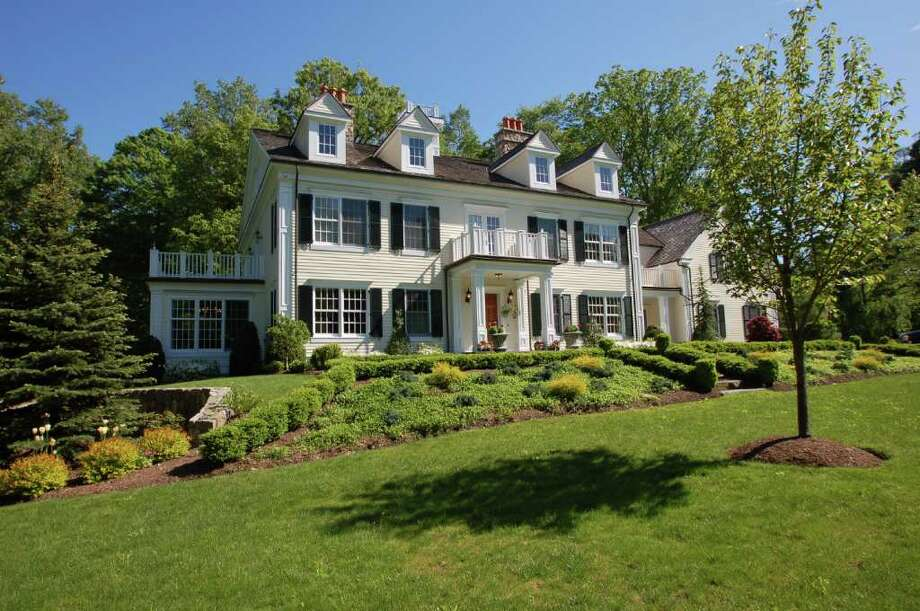 This classic colonial house is located at 1 Rodgers Way in Westport, Conn. has almost 8,000 square feet of living space. Photo: Contributed Photo / Westport News Contributed