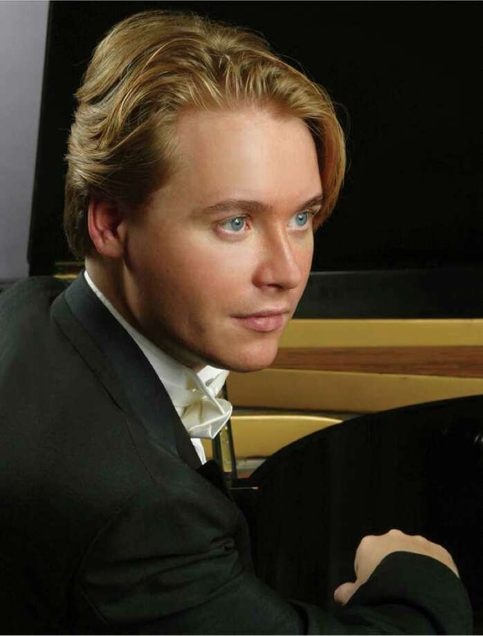 Russian piano virtuoso Konstantin Soukhovetski will perform with Vassily Primakov at the Music for Youth benefit concert at 5 p.m. on Saturday, Nov. 6, 2010 at Southport's Trinity Episcopal Church. Photo: Contributed Photo / Westport News