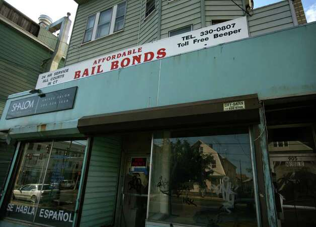 Affordable Bail Bonds at 905 Noble Avenue in Bridgeport. Photo: Brian A. Pounds / Connecticut Post