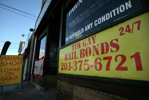 Tim Gay's Bail Bonds at 1812 Barnum Avenue in Bridgeport. Photo: Brian A. Pounds / Connecticut Post