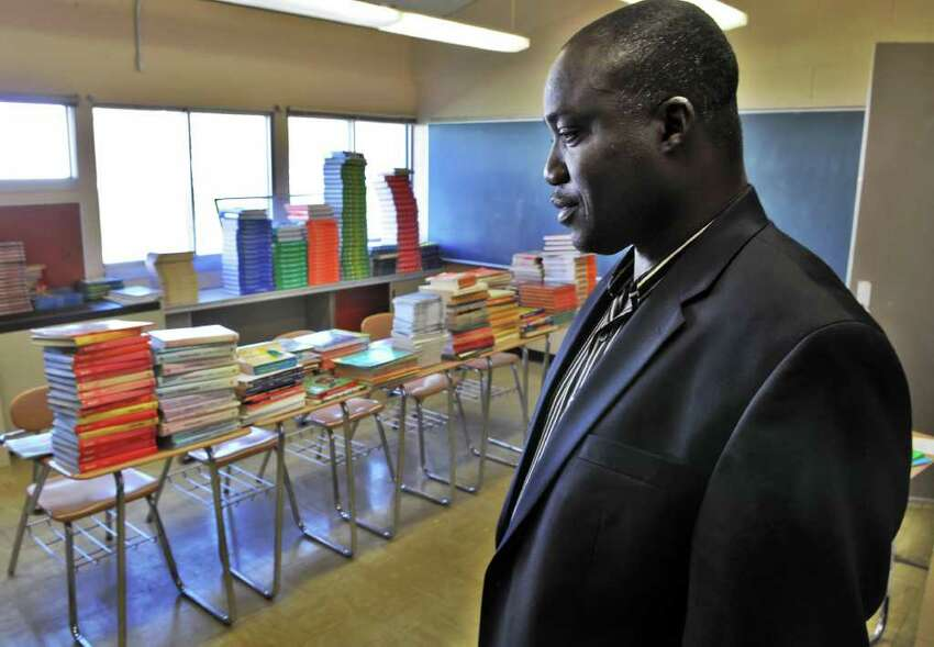 Acting facility director Ola Adewunmi is assigned to wind down the Tryon site, slated to close in January. (John Carl D'Annibile/Times Union)