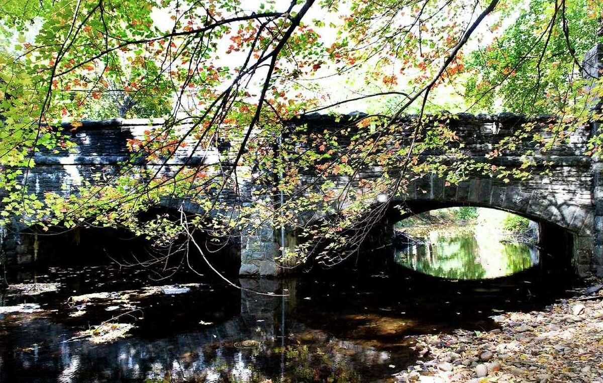 2010 file - The historic Cold Spring Road Bridge.
