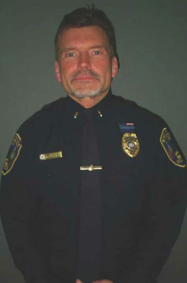David Bender was promoted from lieutenant to captain. Photo: Contributed Photo / New Canaan News