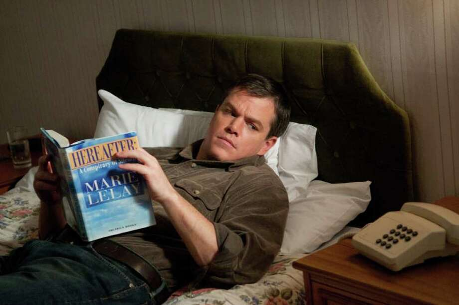 "In this film publicity image released by Warner Bros., Matt Damon is shown in a scene from, ""Hereafter."" (AP Photo/Warner Bros., Ken Regan) Photo: AP"