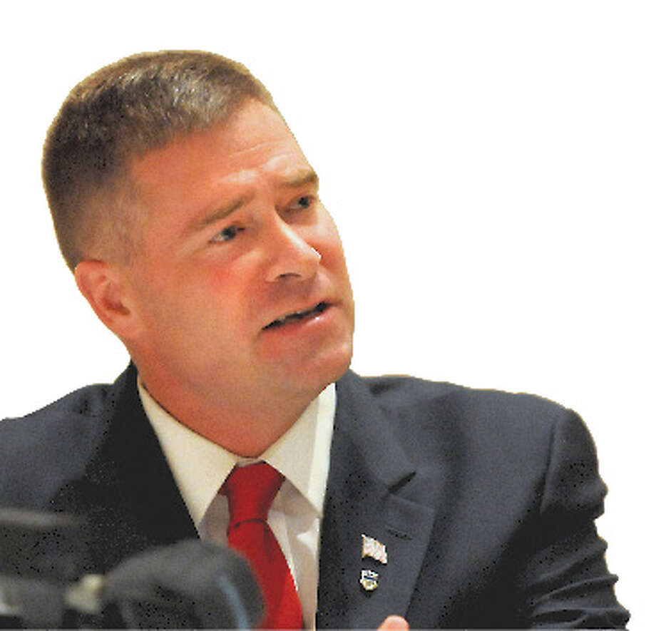 Republican House challenger Chris Gibson supports keeping all the the Bush-era tax cuts, including the top two percent. Photo: Cindy Schultz