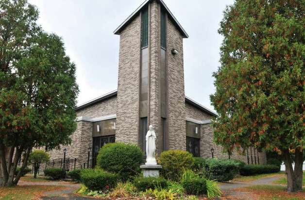 Exterior of the former St. William's church in Troy Thursday morning October21, 2010.  (John Carl D'Annibale / Times Union) Photo: John Carl D'Annibale / 00010703A