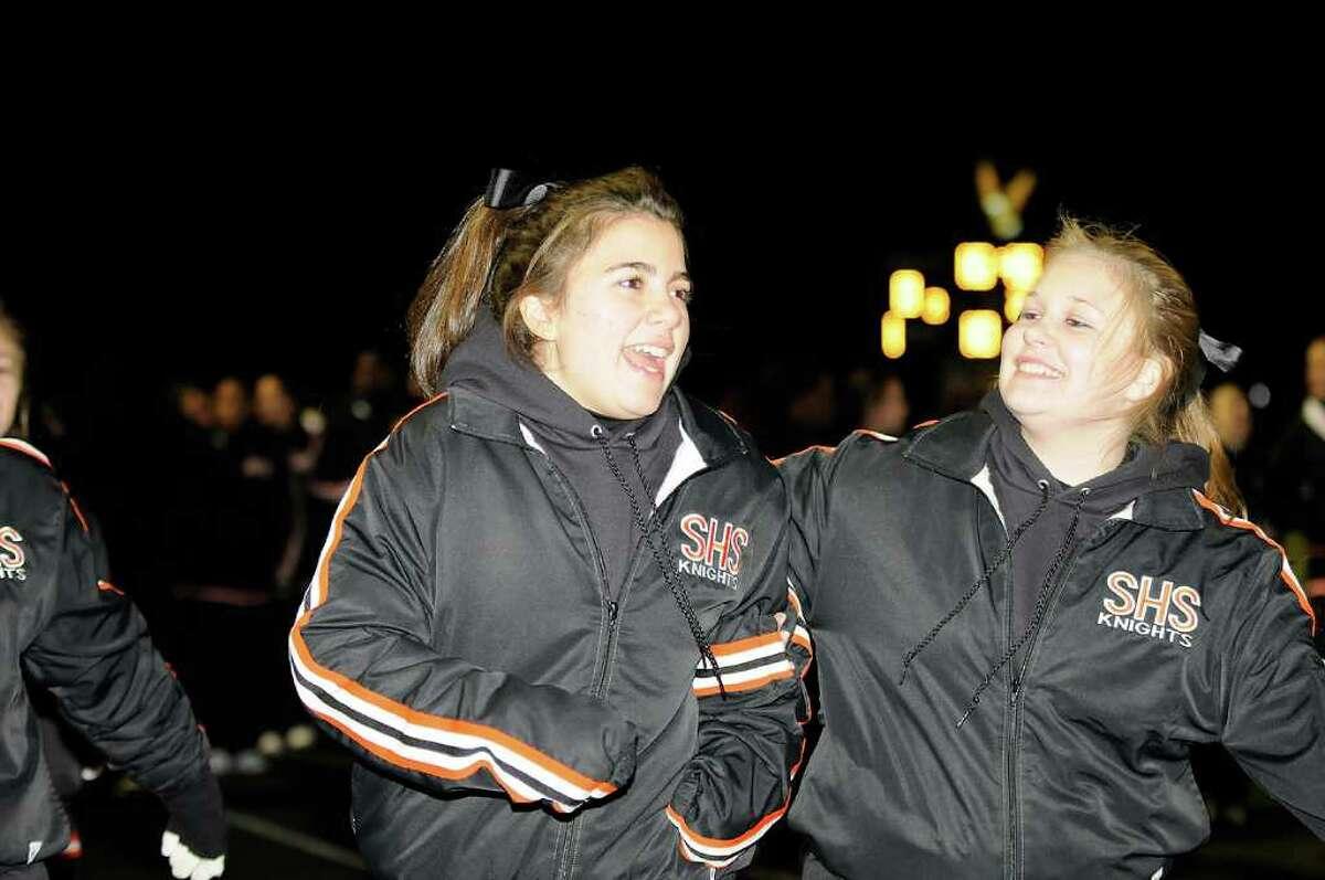 Trumbull High School hosts Stamford High School in Trumbull, CT on Friday, October 22, 2010.