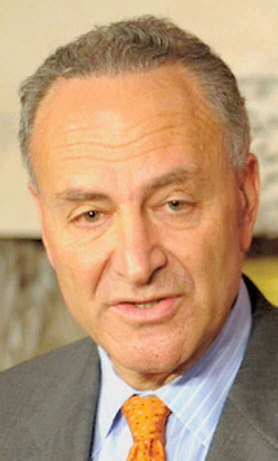 Sen. Chuck Schumer is way in ahead in the polls for another six-year term as New York's senior U.S. senator. He is focusing on his ambition to move up in the party leadership if Sen. Harry Reid loses a tight contest in Nevada. Photo: SKIP DICKSTEIN