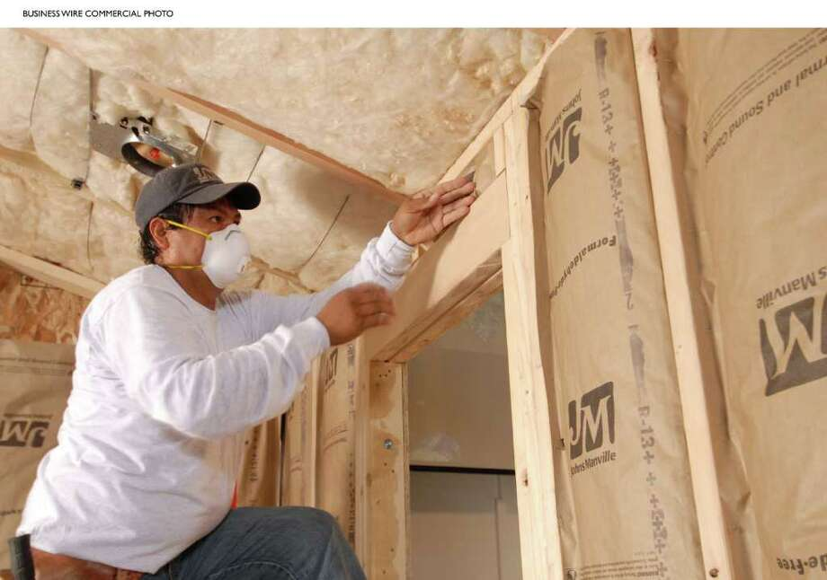 Upgrading or checking insulation for gaps and damage could help you save money on your heating bills. (Associated Press) / Johns Manville