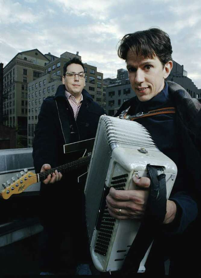 They Might Be Giants will be at the Quick Center at Fairfield University for two shows Saturday, Oct. 30, including a family show at 4 p.m. Photo: Contributed Photo / Connecticut Post Contributed