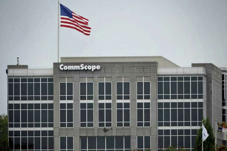 The headquarters building of CommScope Inc. stands in Hickory, North Carolina, U.S., on Monday, Oct. 25, 2010. CommScope said Carlyle Group, the Washington-based leveraged buyout firm, is in talks to buy the company in a deal that would value the telecommunications equipment maker at about $3 billion. Photographer: Davis Turner/Bloomberg Photo: Davis Turner, Bloomberg / © 2010 Bloomberg Finance LP