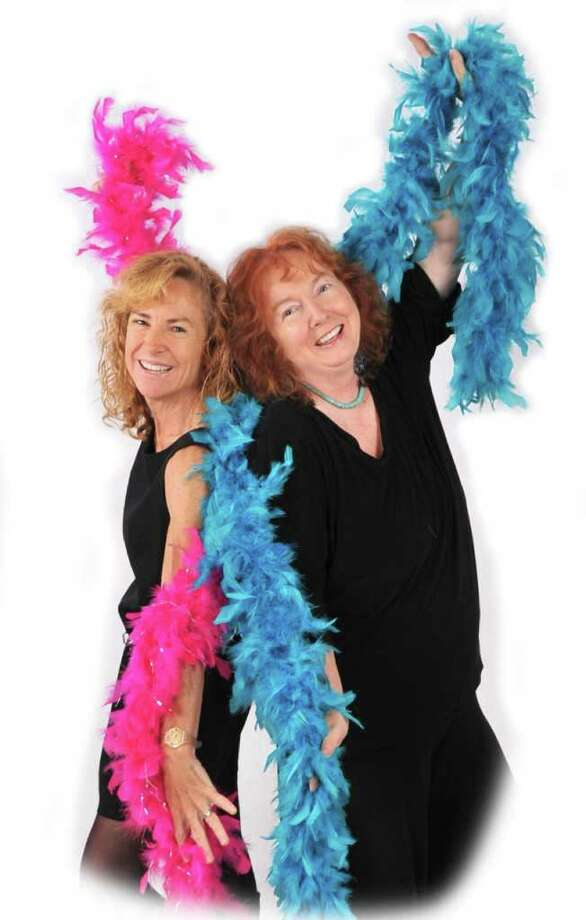 Morgaine Pauker, left, and Suzanne Sheridan are the co-owners of Girls Night Out Photography. Photo: Contributed Photo