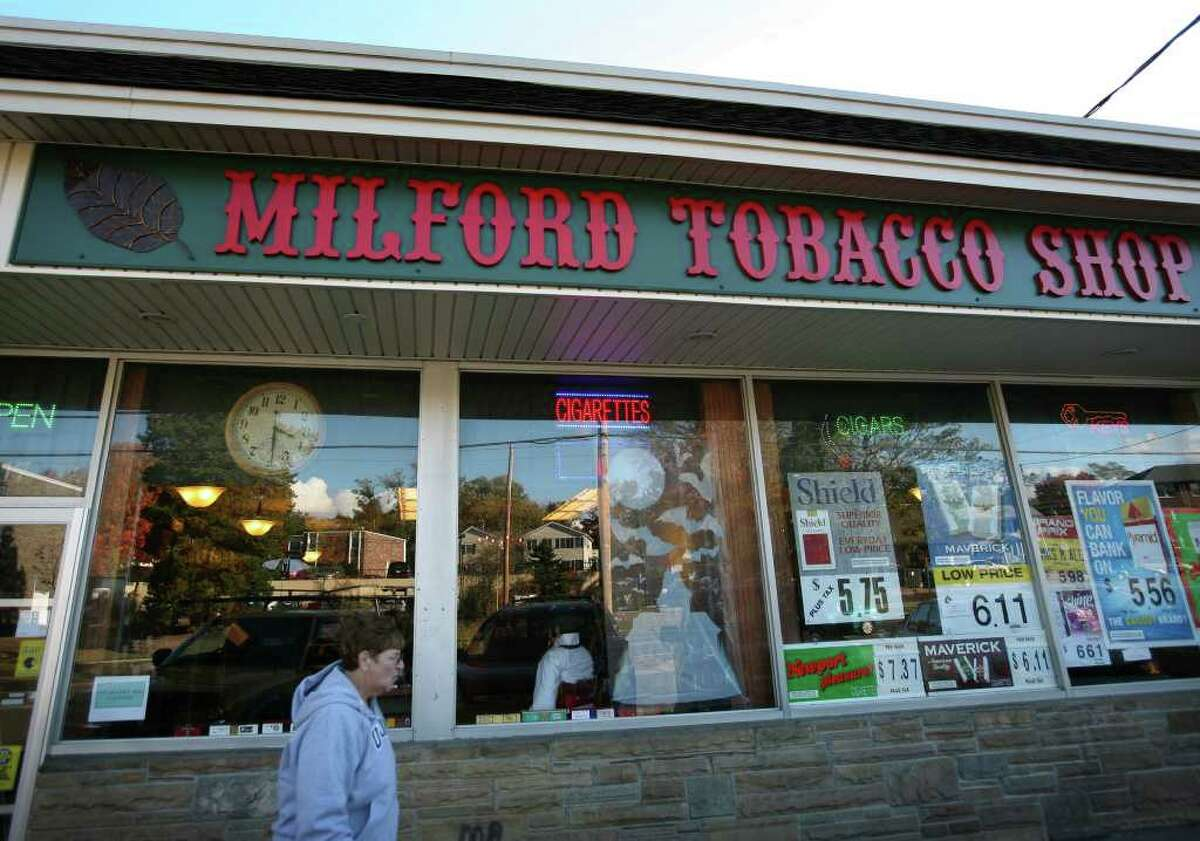 The Milford Tobacco Shop at 2017 Bridgeport Avenue in Milford.