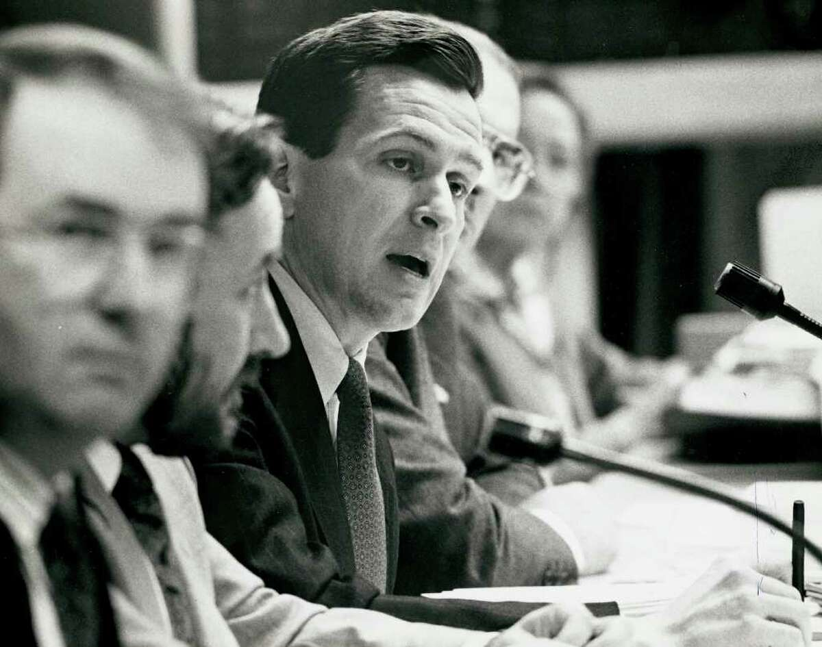 1990: Finance Board Chairman, Dannel Malloy.