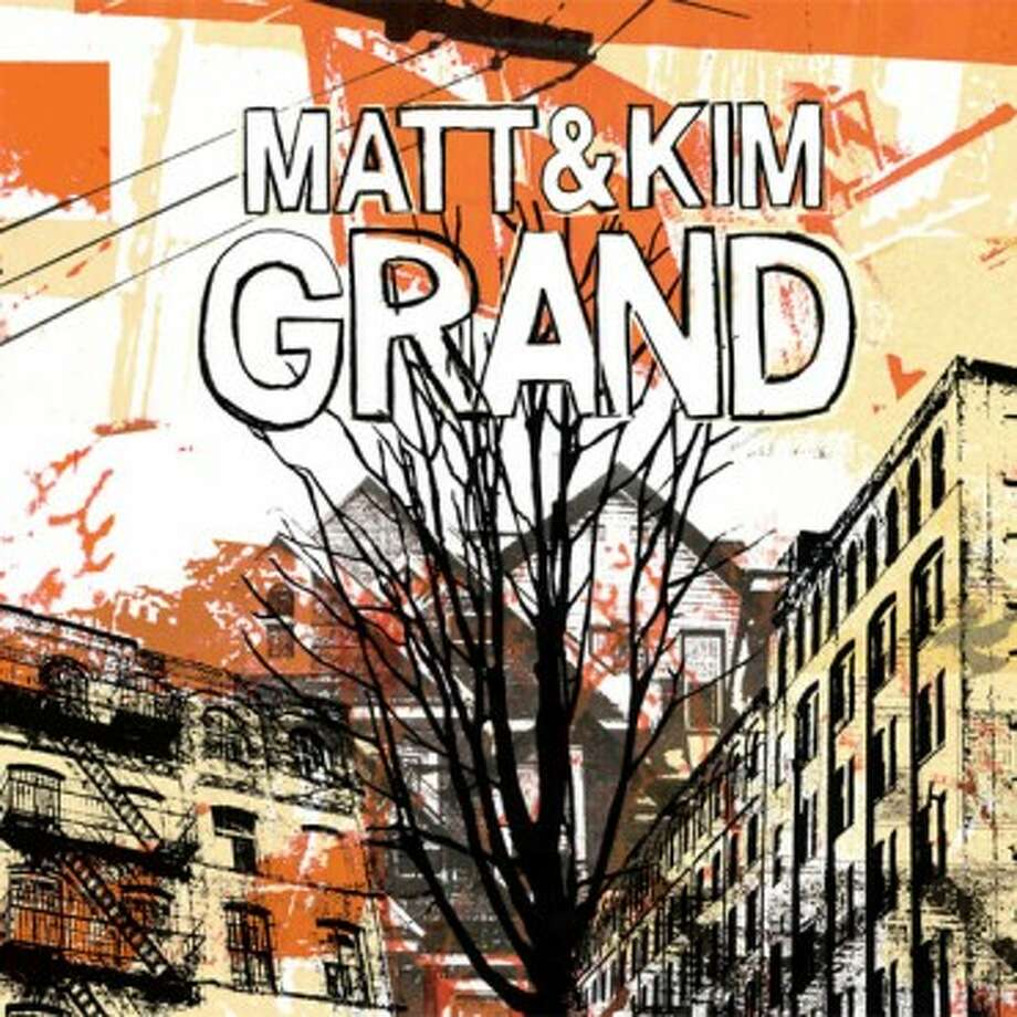 "Matt and Kim's second album, ""Grand"""