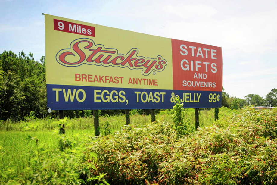 Stuckey?s on Interstate 10 near Anahuac, which is still popular and a holdover from the 1950s-'60s, has everything a traveler might desire, from gasoline, pecan rolls, and kitschy souvenirs. Wednesday, August 4, 2010.  Valentino Mauricio/The Enterprise