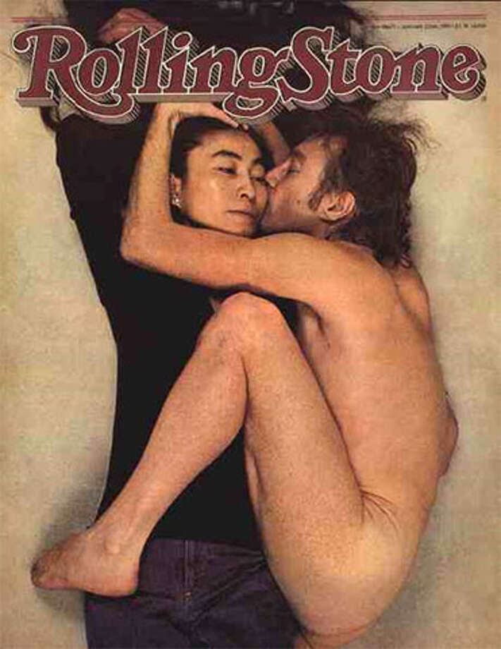 John Lennon on the cover of Rolling Stone in January 1981.