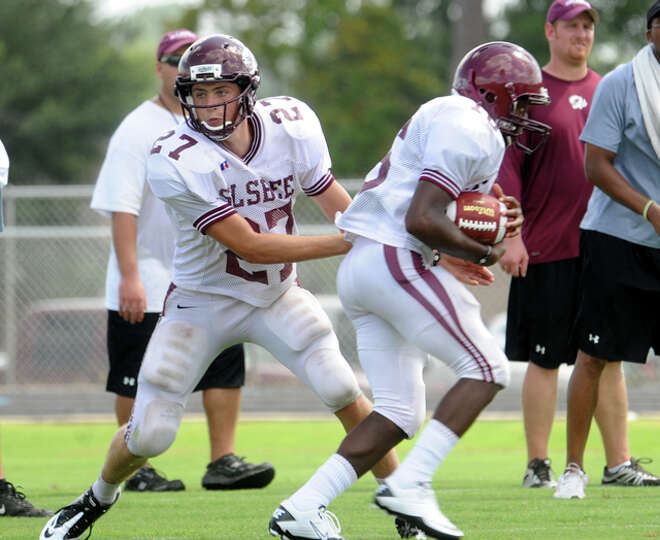 Silsbee plays a scrimmage against Kirbyville, Saturday. Tammy McKinley/The Enterprise