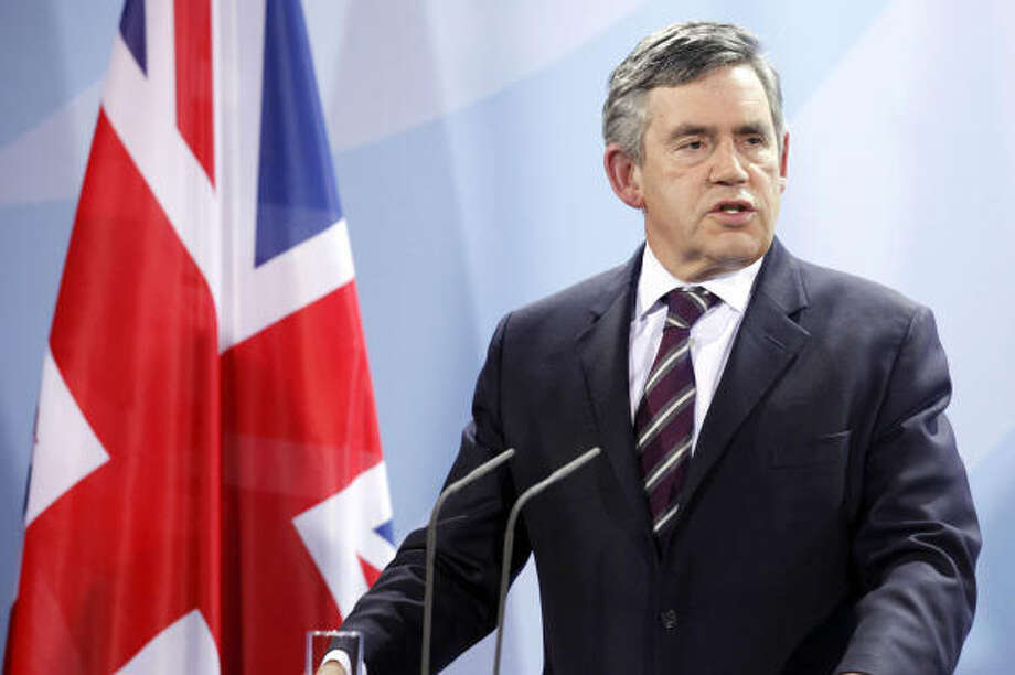 Former British Prime Minister Gordon Brown, son of a Church of Scotland minister.