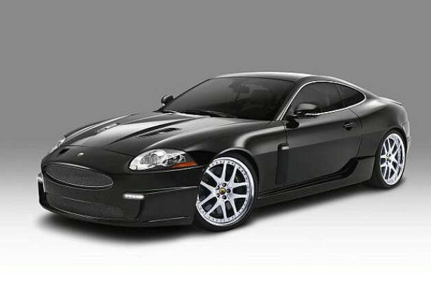 No. 6: Jaguar XKR. ?Hips and lips? were the XK?s styling focus, said its designer Ian Cullum. It?s outstandingly sleek and elegant -- as a Jaguar should be. Jaguar ups the ante with the XKR design with chrome on its lower mesh grille and a distinctive lower rear valance.