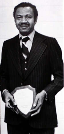 Theodore Johns, Sr. when he was honored by the Beaumont branch of the NAACP in 1978. Enterprise file photo