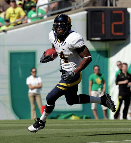 30. Detroit Lions - RB Jahvid Best - California running back Jahvid Best gains yardage during the first half of their NCAA college football game against Oregon. (AP Photo/Don Ryan) / AP2009