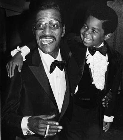 Sammy Davis, Jr., and Gary Coleman are shown at the Third Annual Carousel Ball. The two were named Man and Child of the Year, June 14, 1980, by the Diabetes Foundation in Denver. (AP Photo)