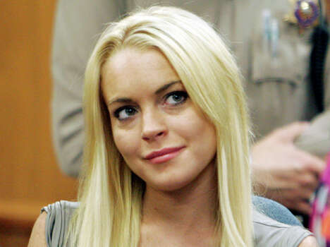 Lindsay Lohan was discharged from a suburban Los Angeles jail early Monday. AP Photo/Al Seib / Pool The Los Angeles Times