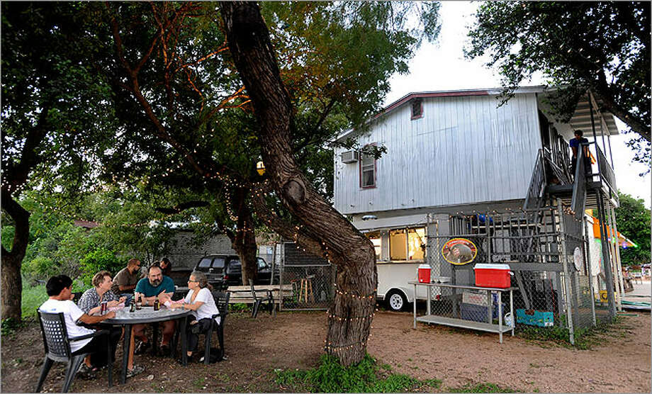 G&G Mobile Bistro, behind Boneshakers Bar, offers the essence of fine dining — great food.