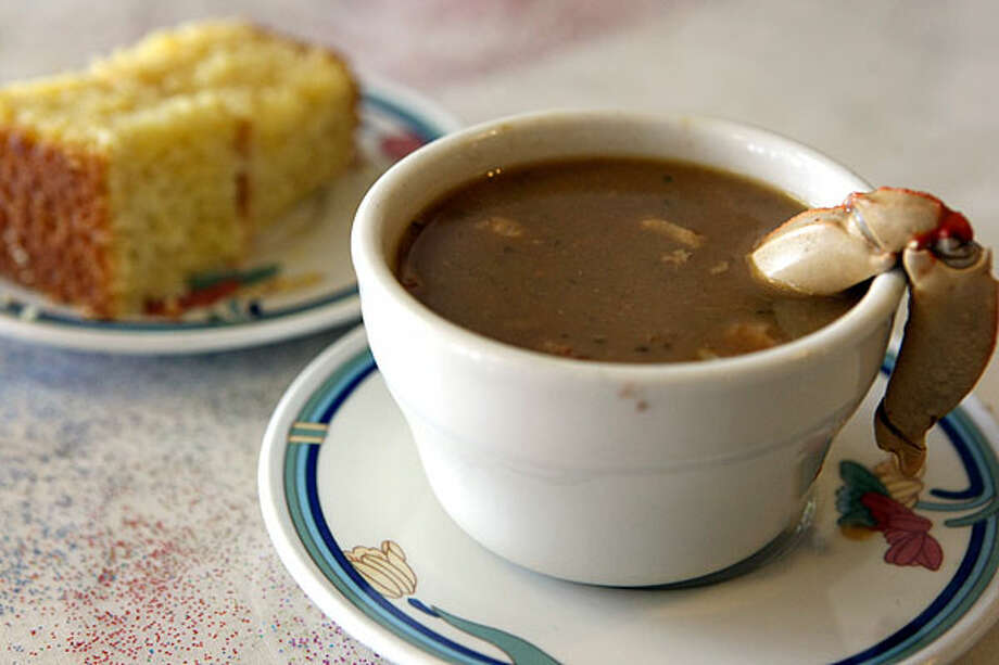 Ma Harper's Creole Kitchen serves a delicious cup of gumbo. / SAN ANTONIO EXPRESS-NEWS