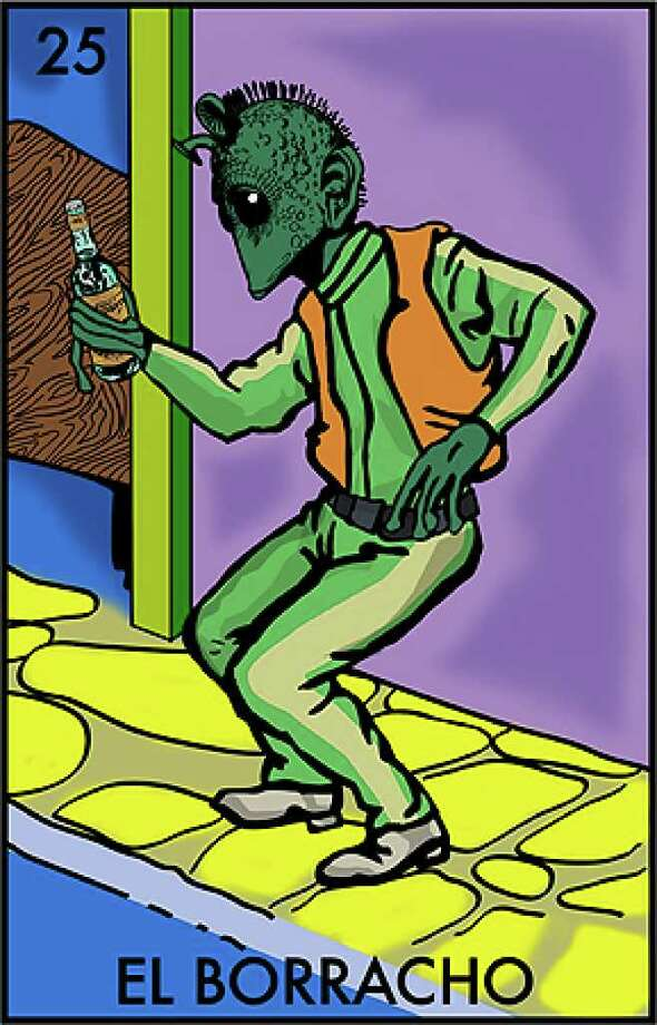 """El Borracho"" as depicted by Chepo Peña using Greedo."