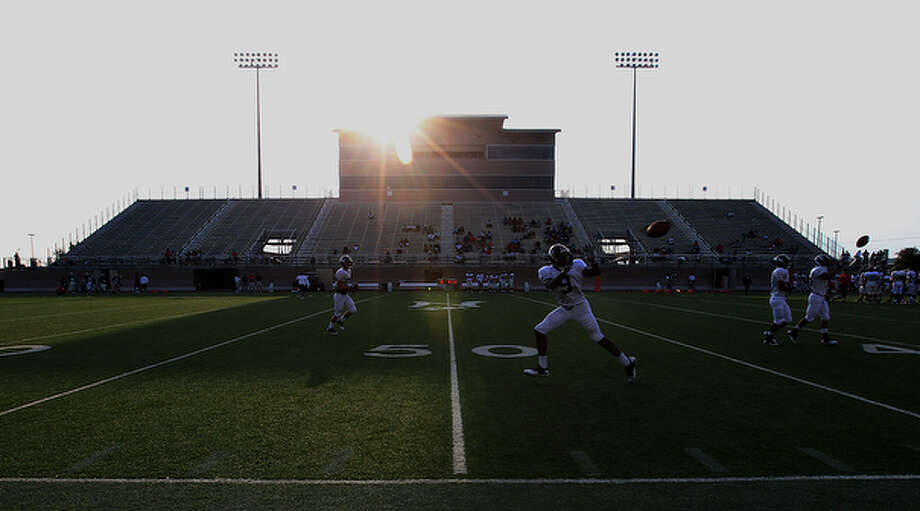 The UTSA football team holds its first scrimmage at Farris Stadium on Wednesday, Sept. 15, 2010. The team will officially have their first game in the Fall of 2011. / San Antonio Express-News