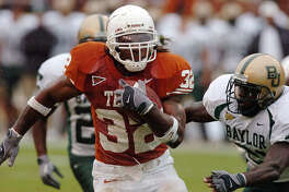 Texas running back Cedric Benson was sixth in Heisman voting in 2004, when he capped his career in Austin with 1,834 yards and 19 TDs. He also caught 22 passes for 179 yards and another TD as the Longhorns finished 11-1 after a victory over Michigan at the Rose Bowl.