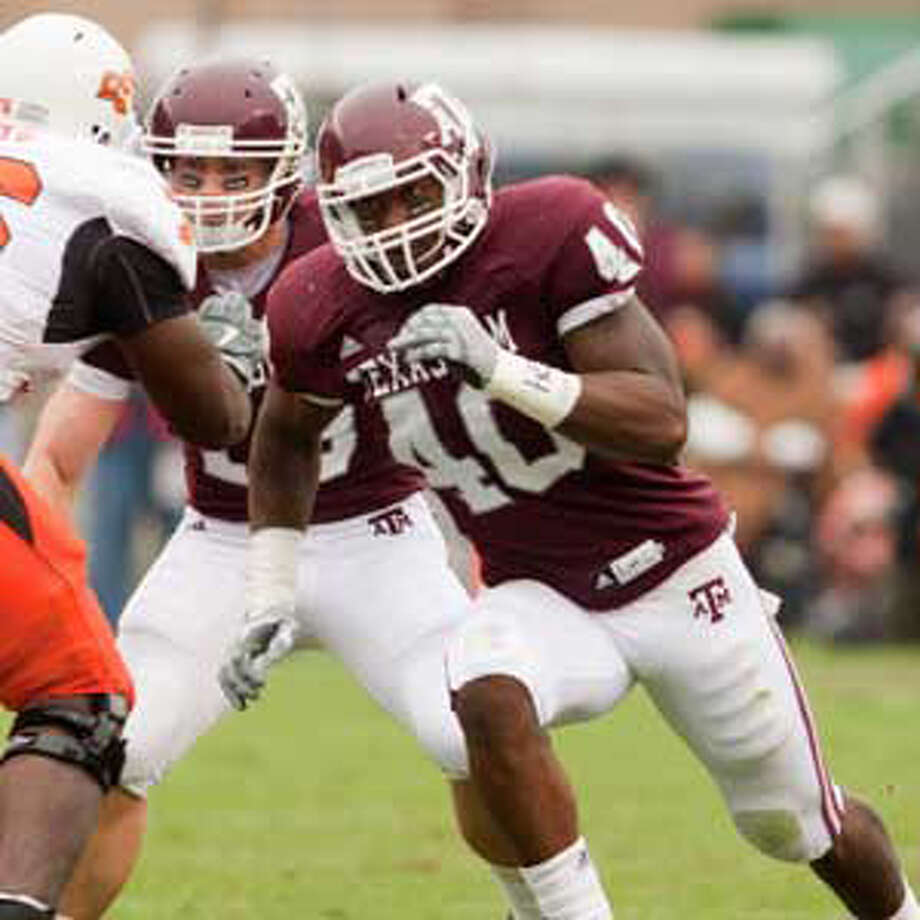 Von Miller's sacks total likely will be less than last year's 17 in A&M's new 3-4 scheme.
