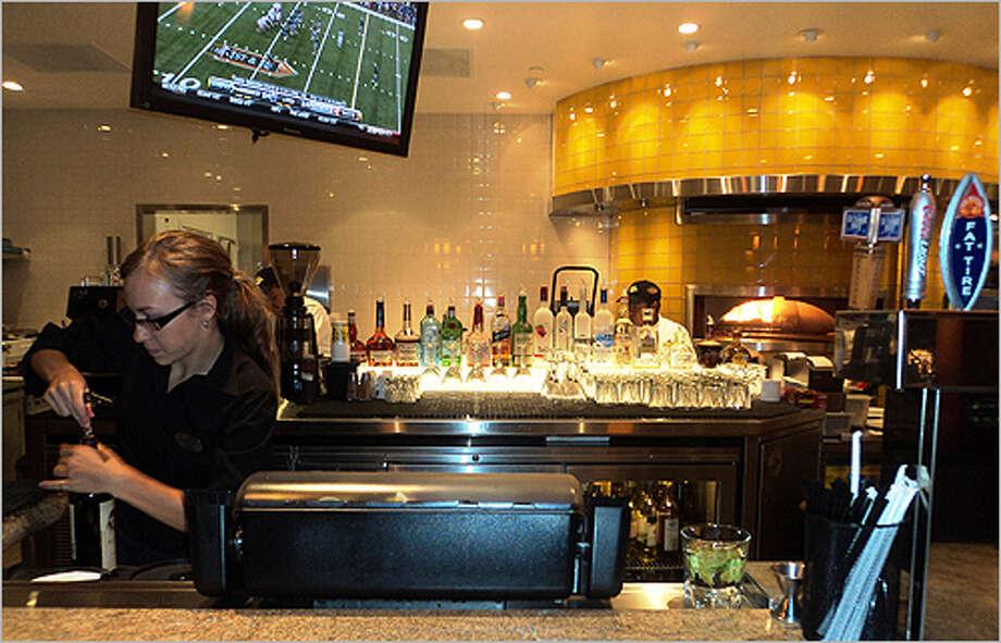 Pub Crawl: California Pizza Kitchen: The bar - San Antonio Express-News