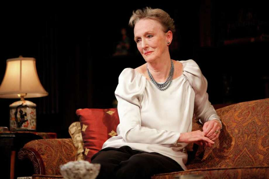 "Kathleen Chalfant is starring in the Yale Rep production of ""A Delicate Balance"" running through Nov. 13 Photo: Contributed Photo / Connecticut Post Contributed"