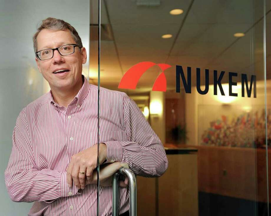 Jeff Faul is president and ceo of Nukem, Inc. Photo taken Thursday, Oct. 28, 2010. Photo: Carol Kaliff / The News-Times