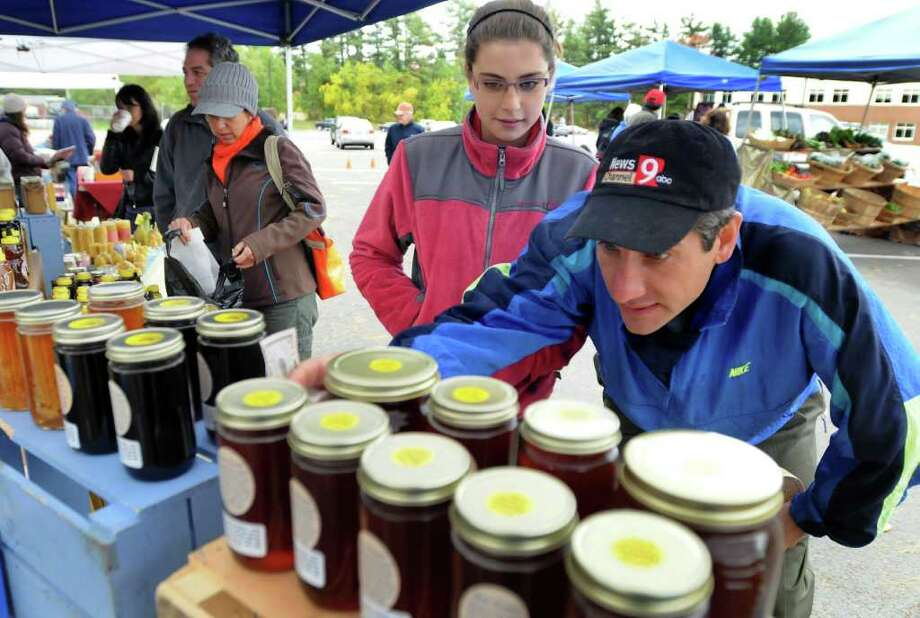 Delmar Farmers Market, opens May 31, 9 a.m. to 1 p.m., Saturdays, Bethlehem Central Middle School, 332 Kenwood Ave., Delmar.View Web site. Photo: Cindy Schultz