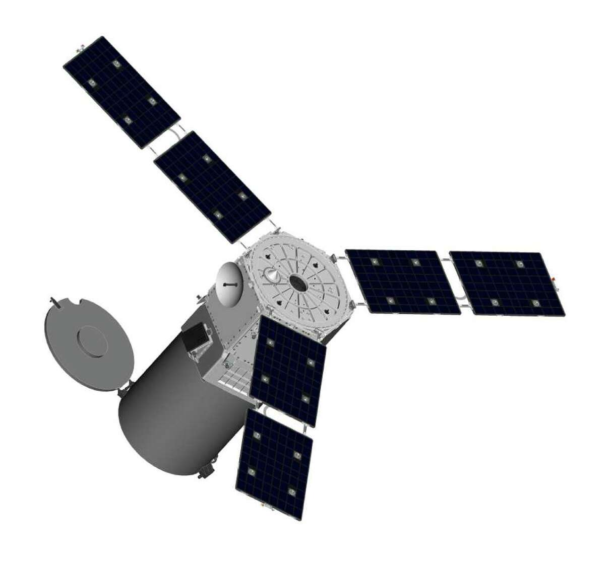 Goodyear ISR in Danbury, a specialist in space optics, is building its first complete satellit to record color images of enemy military operations from low-earth orbit.
