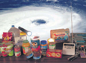 Keeping the proper supplies at home can make a hurricane a more tolerable experience. Pete Churton/The Enterprise