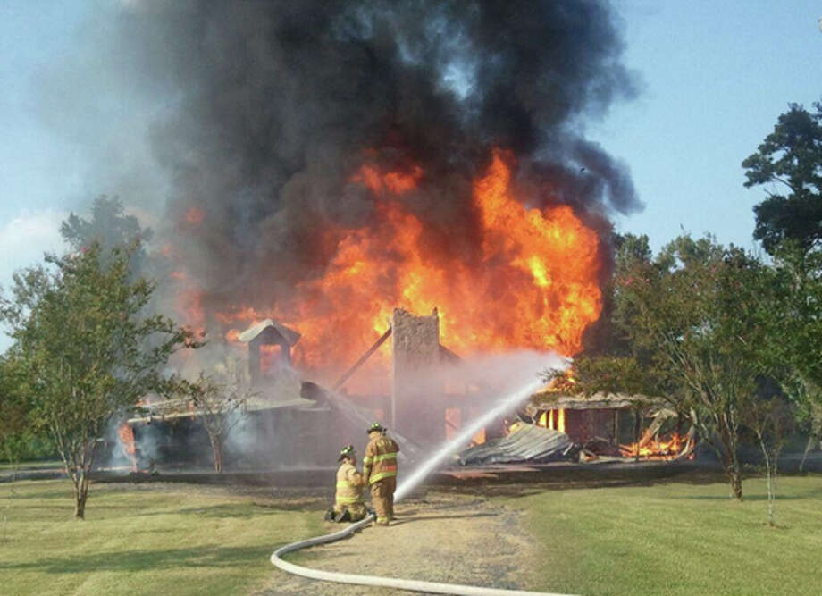 Photo courtesy of the Mauriceville Volunteer Fire Department