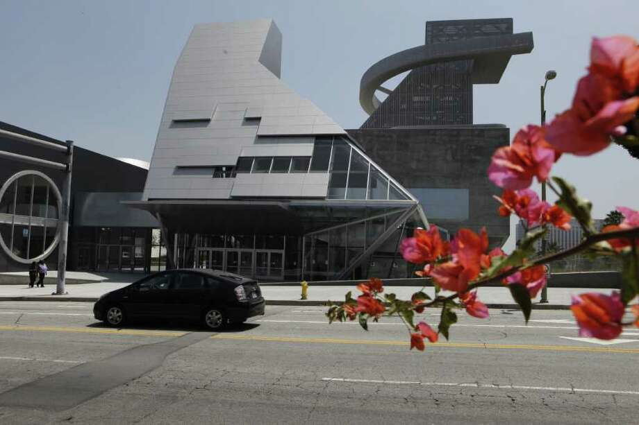The Visual and Performing Arts High School is seen in Los Angeles. Next month's opening of the Robert F. Kennedy Community Schools will be auspicious for its eye-popping price tag of $578 million. Damian Dovarganes/The Associated Press