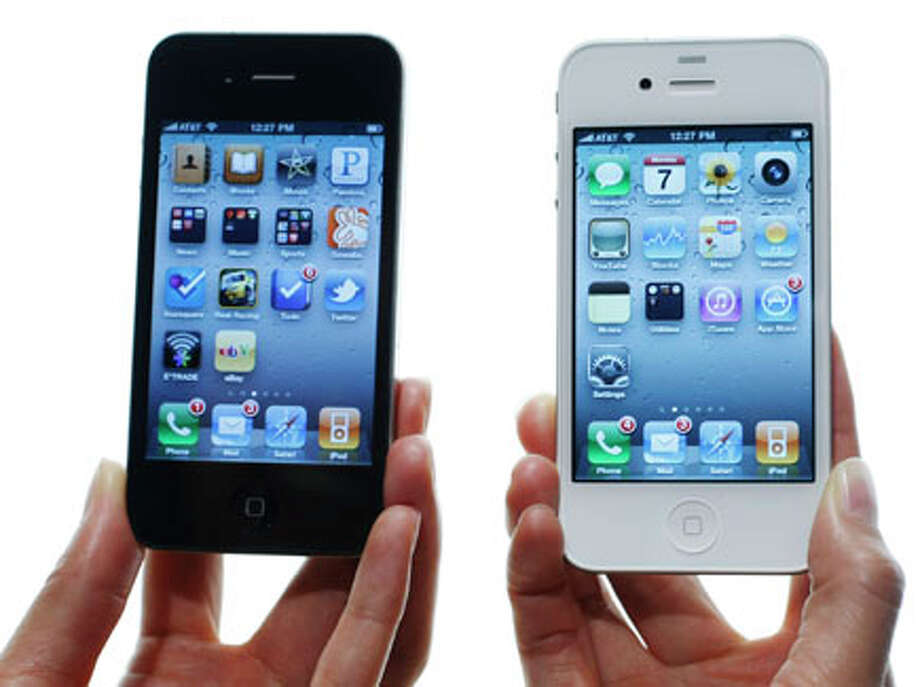 Apple's next iPhone may be similar to the iPhone 4, pictured above.  Or it may be completely different. Rumors abound as the secretive  company prepares to unveil the next version of its popular device. / AP