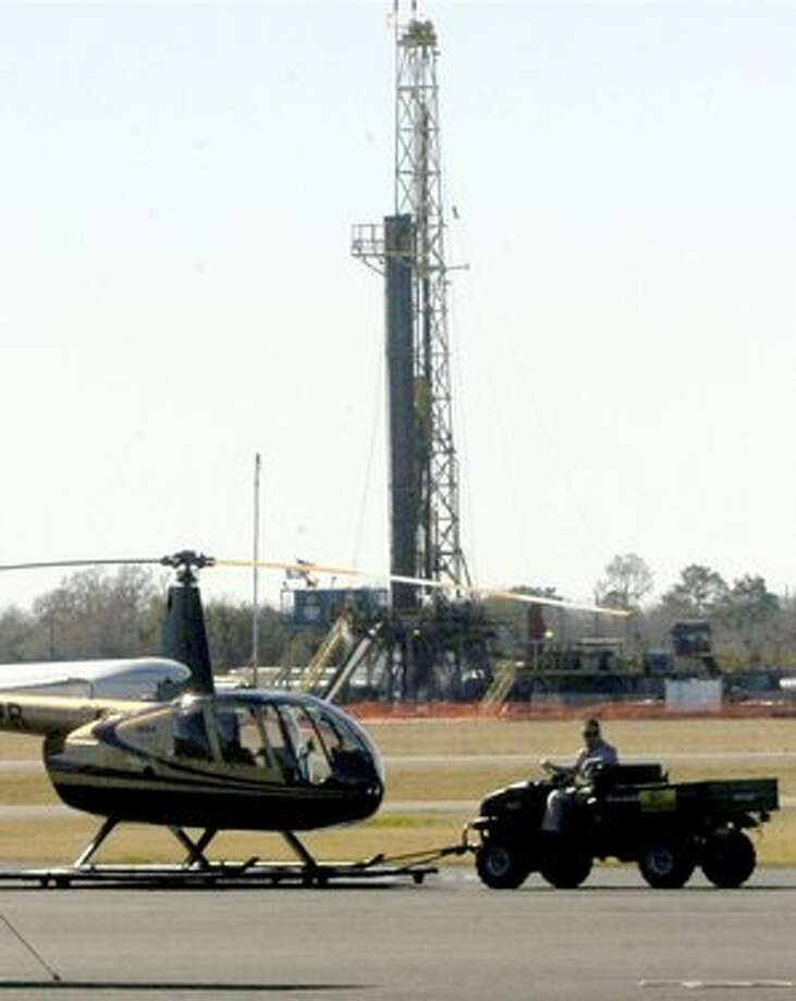 Beaumont?s multimillion-dollar gas drilling royalty grab has sparked many dreams of what to do with all the cash, but the city apparently will need the FAA?s blessing to spend it on anything other than Beaumont Municipal Airport. Dave Ryan/The Enterprise / Beaumont