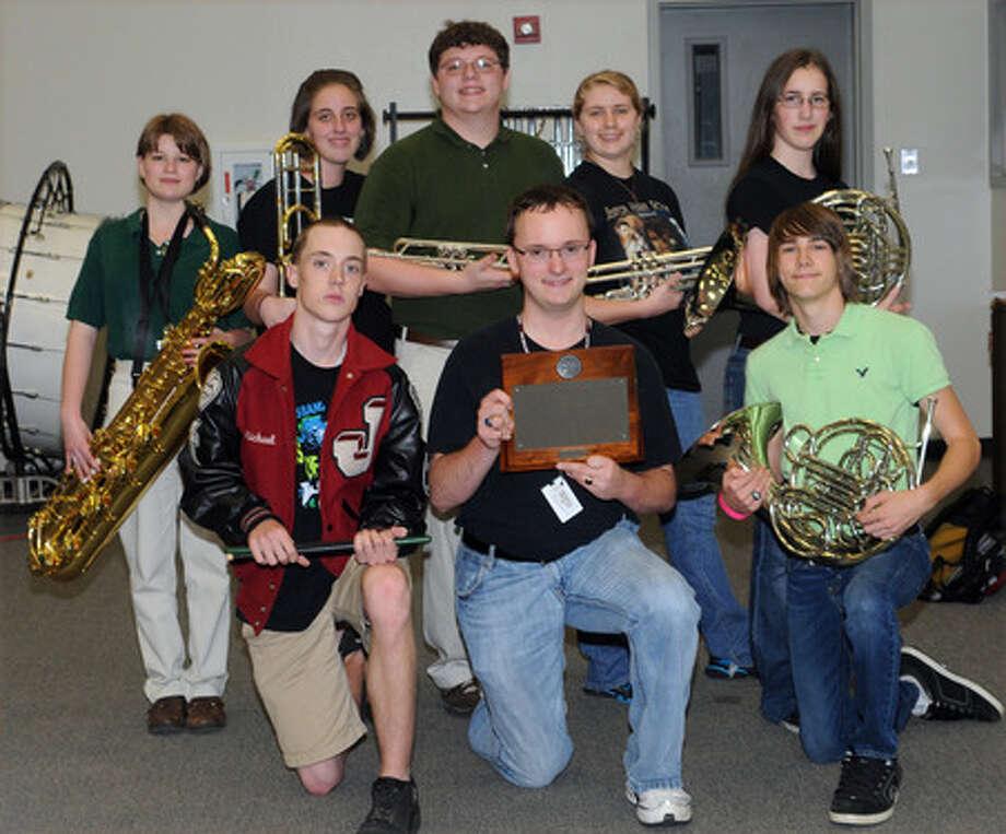 JHS band captures award.