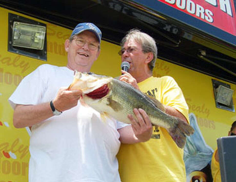 Day 1 leader of McDonald's Big Bass Splash on Toledo Bend George Clay.