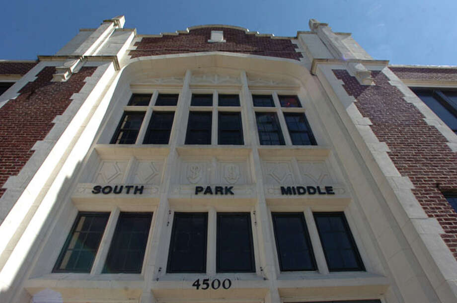 The former South Park Middle School building on Highland Avenue. Pete Churton/The Enterprise / Beaumont
